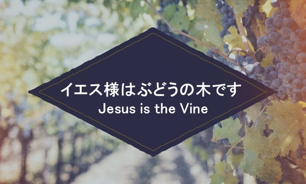 Who is Jesus? Part 6 イエス様はぶどうの木です by ライアン・ケイラー Jesus is the Vine by Pastor Ryan Kaylor